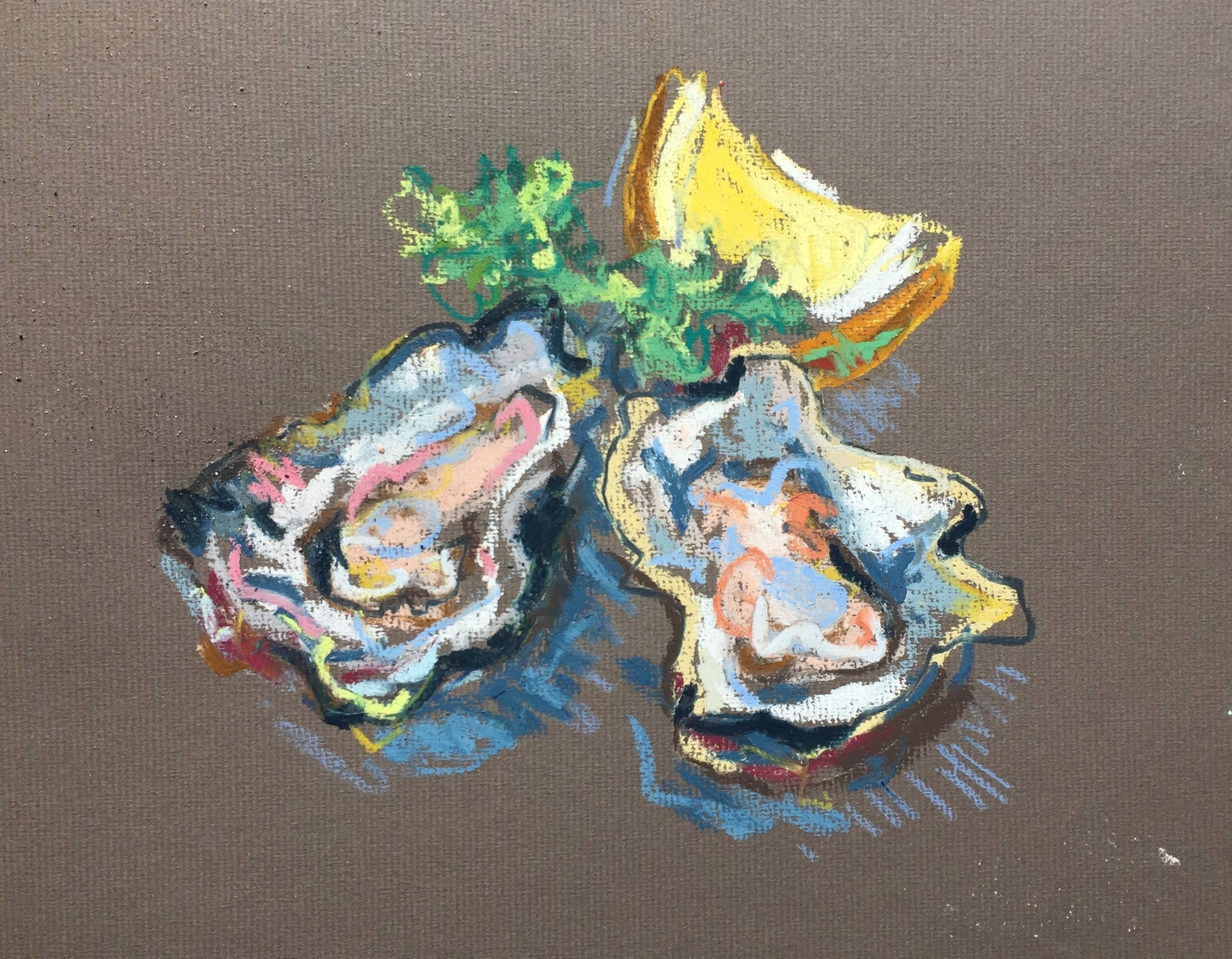 Oysters and lemon 1.JPG