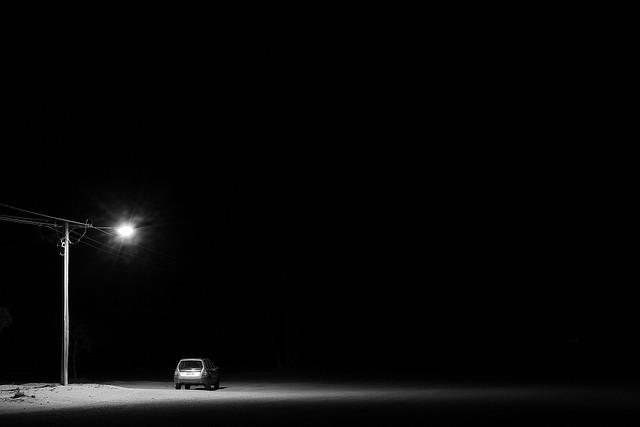 Fotografía:  Silverton by night - Street Lamp