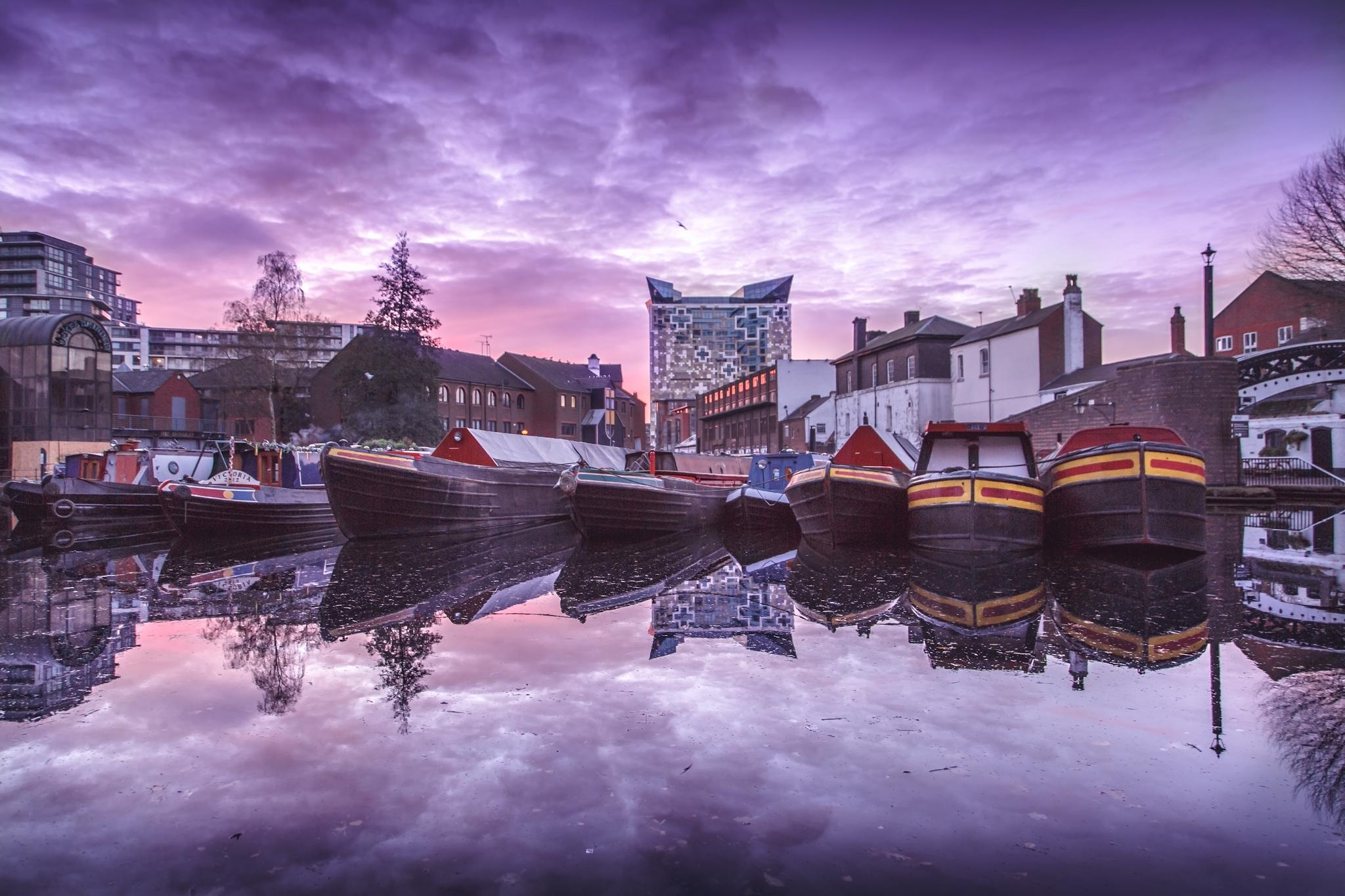 Gas Street Basin Birmingham by Ross Jukes Photography