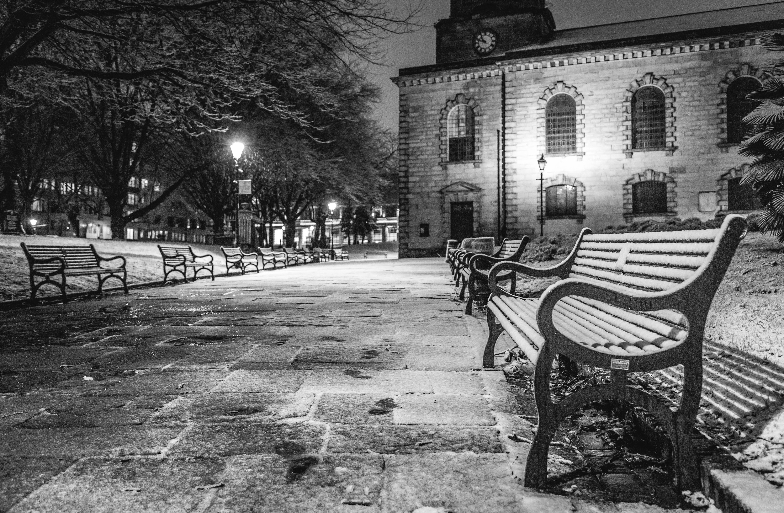 Cold start to the year - Birmingham Snow