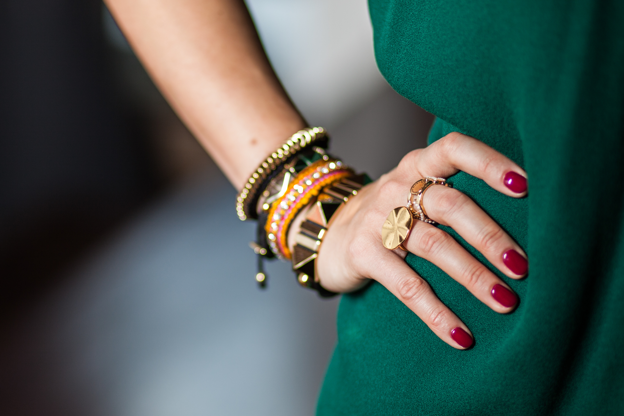 mademoiselle jules arm party