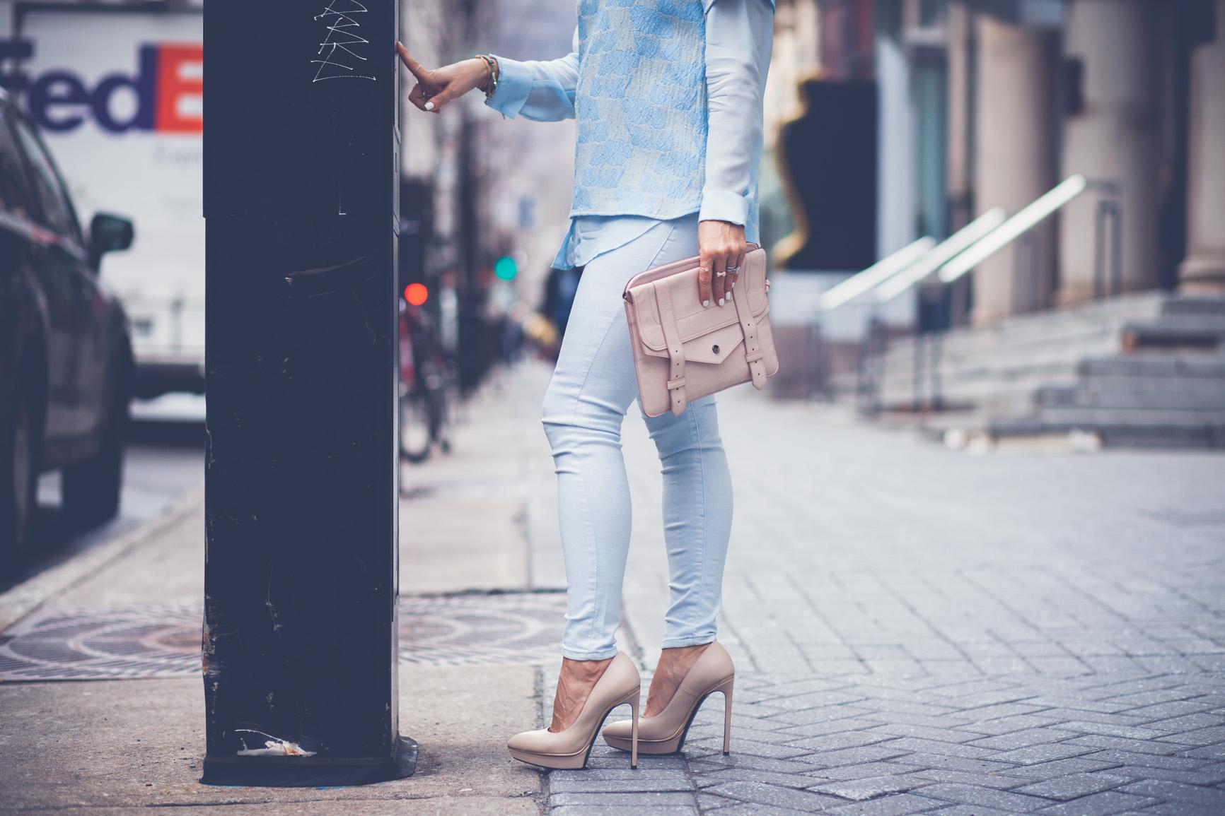 baby blue mademoiselle jules mlle saint laurent shoes