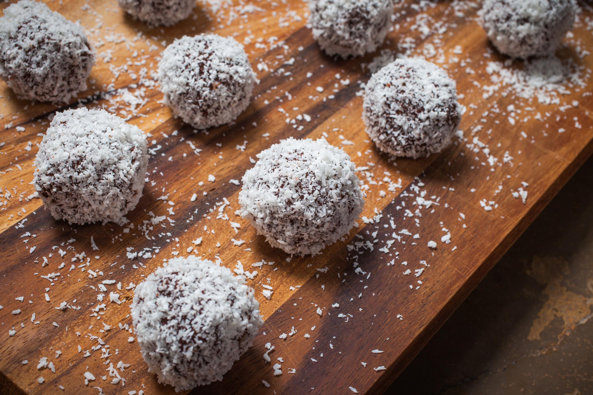 energy ball date & roll mademoiselle jules food recipe