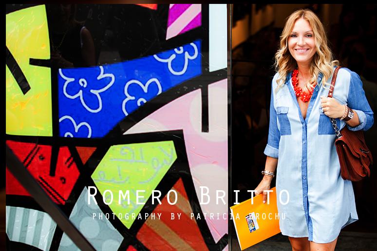 Romero Britto mademoiselle jules mlle art