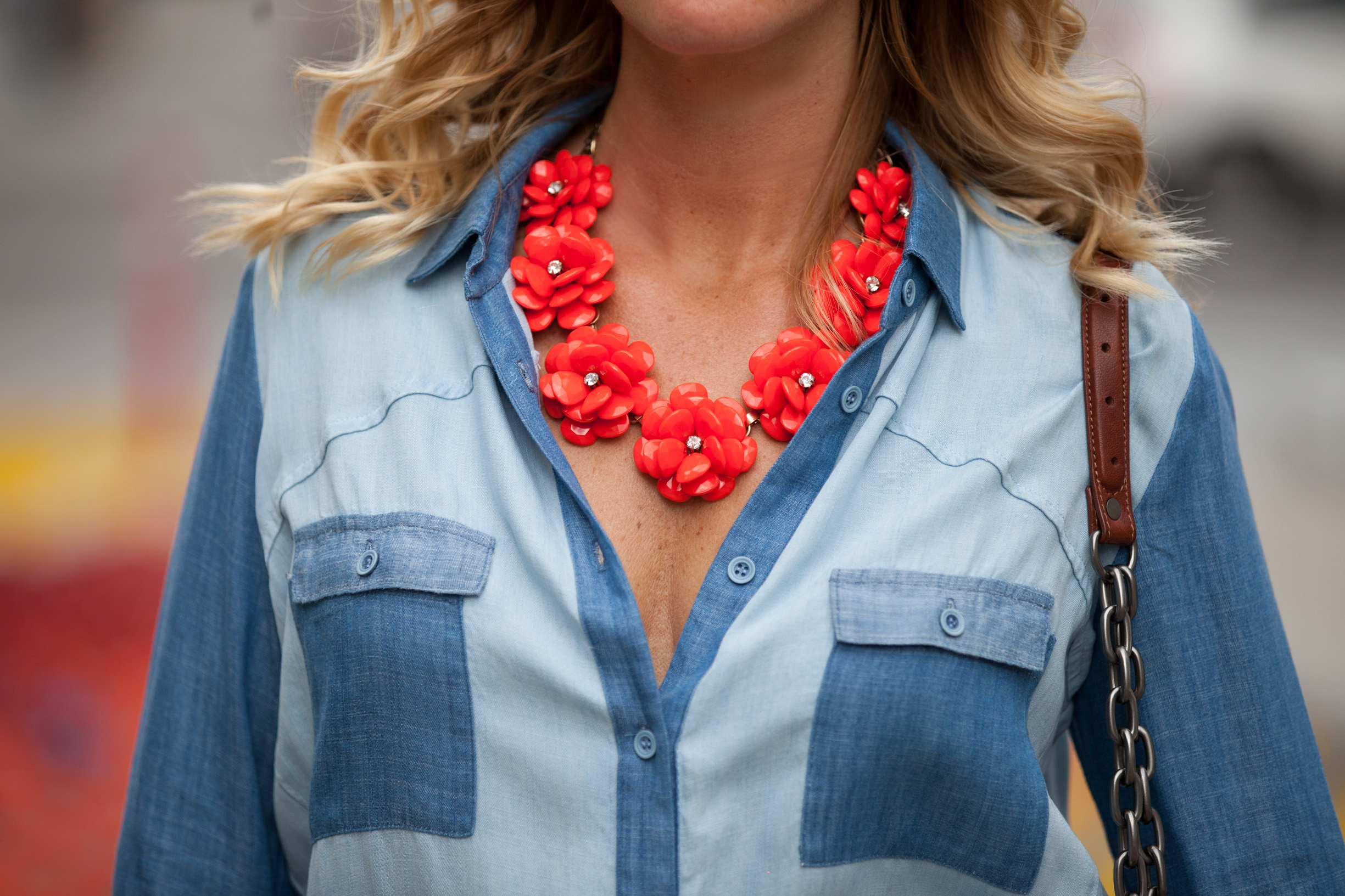 bettyray statement necklace mademoiselle jules mlle