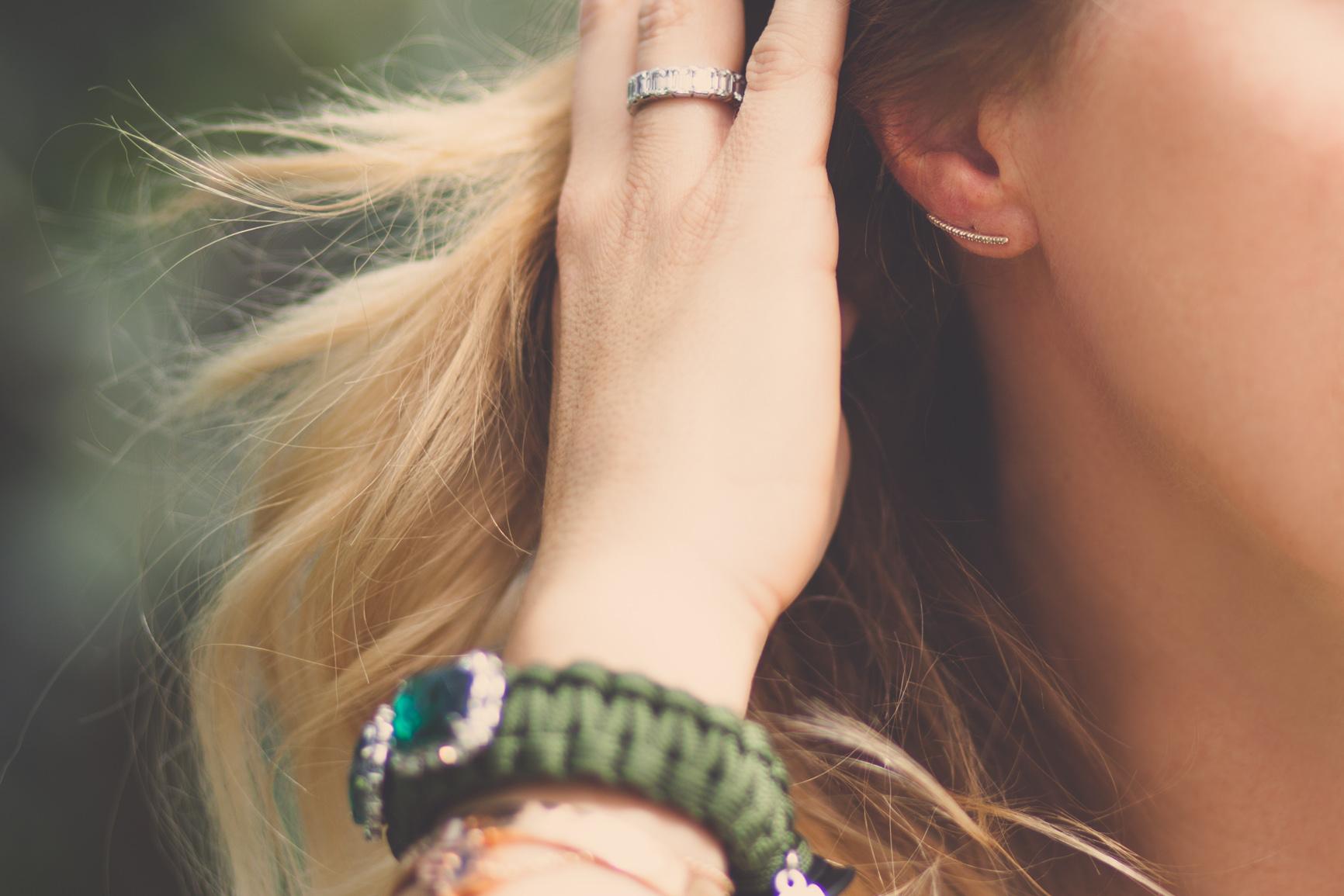 mademoiselle jules mlle greenhouse kettlebell bracelet pamelalove earrings