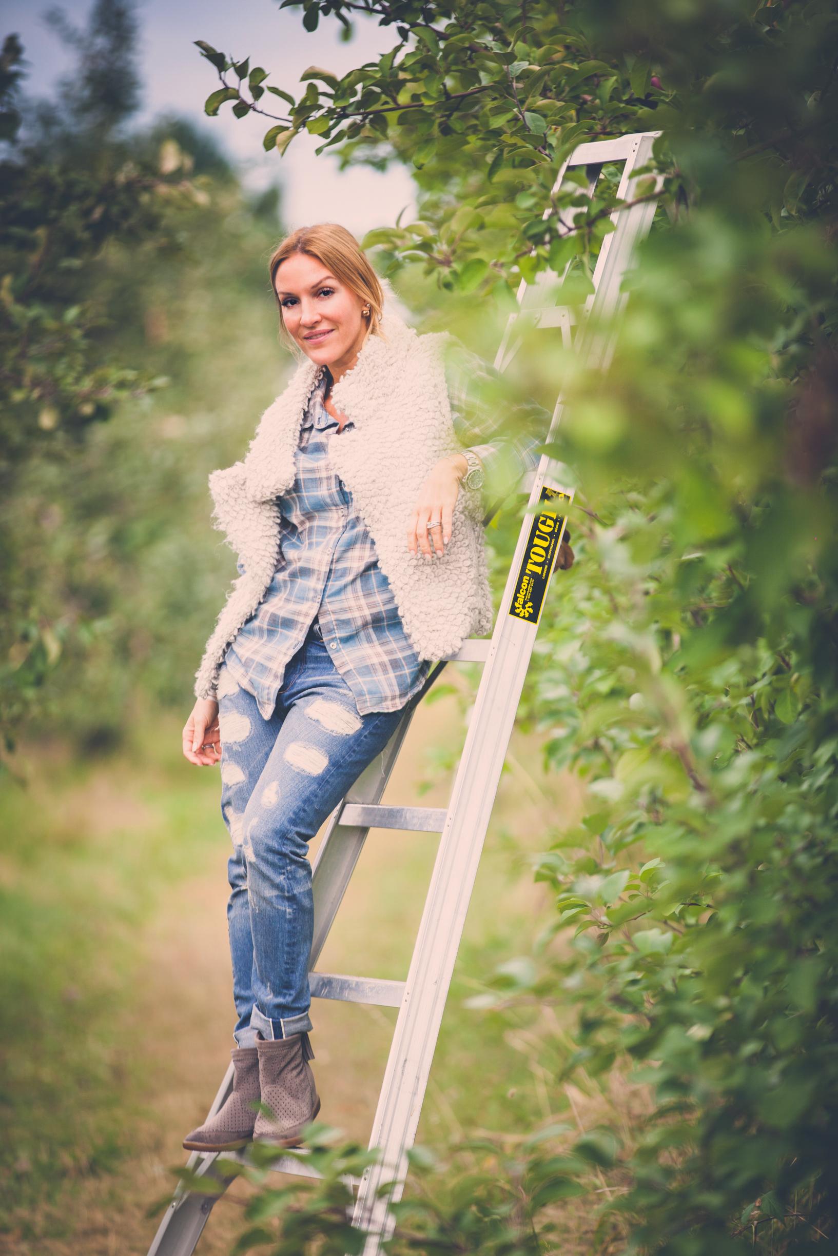 mademoiselle jules mlle apple picking lifestyle blog