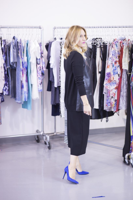 mademoiselle jules lifestyle videos leather blazer bailey44 show & tell fashion