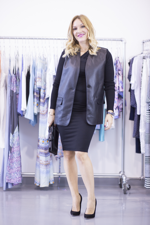 mademoiselle jules lifestyle videos show & tell fashion leather blazer bailey 44