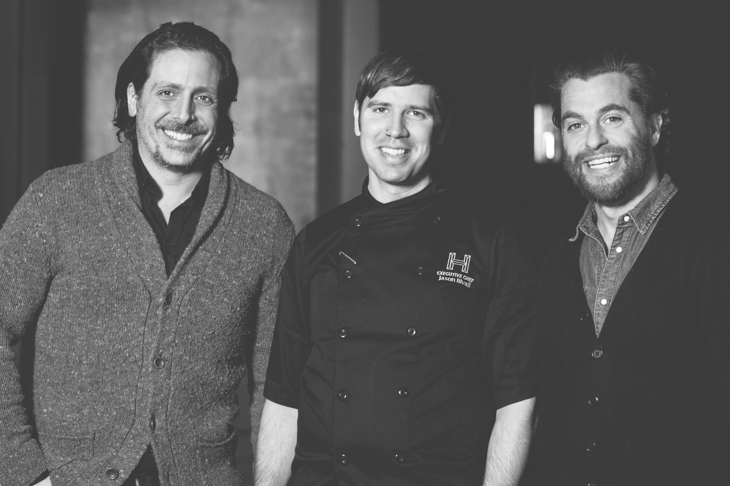 Stevie B, Brahms, Jason Bivall harlow restaurant montreal mademoiselle jules