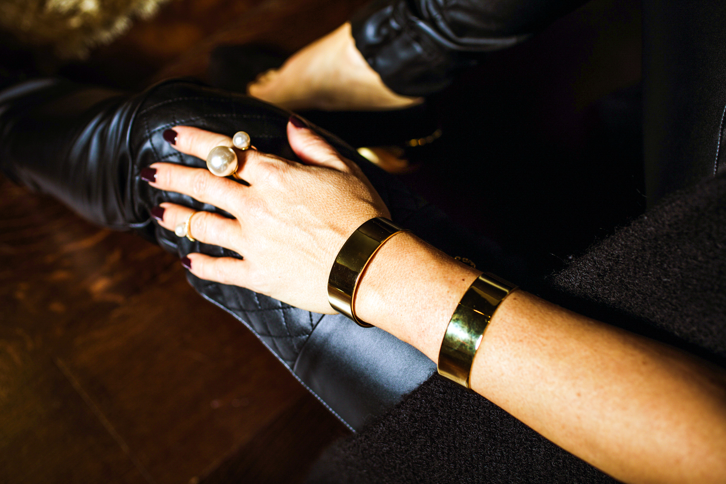 vanessa Money double cuff new social class fashion blog mademoiselle jules mlle
