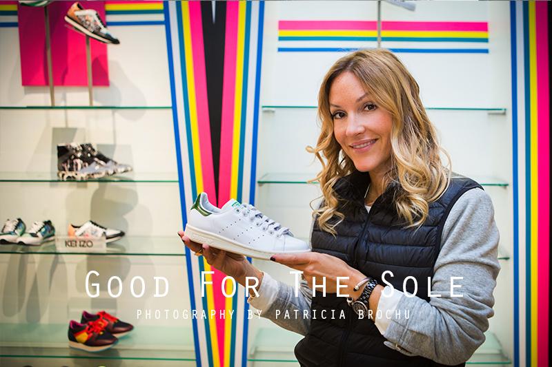 sneaker fashion post shoe departement holt renfrew montreal mademoiselle jules mlle blogger
