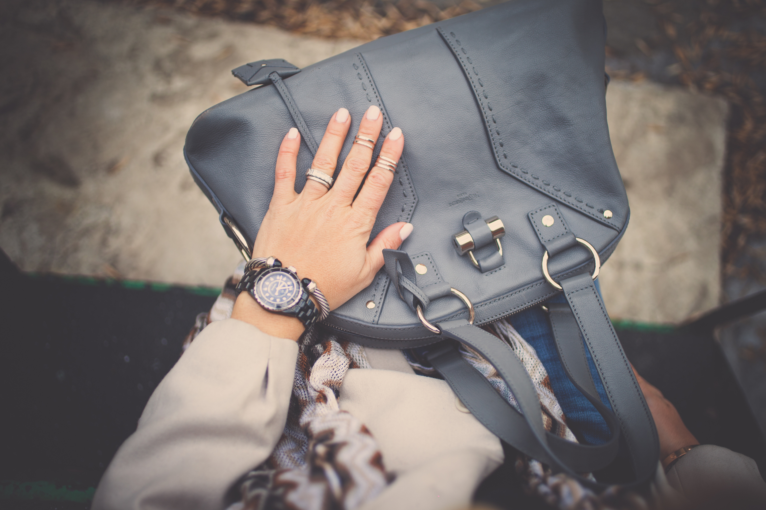 muse YSL bag mademoiselle jules fashion blog trends for spring layering ring party