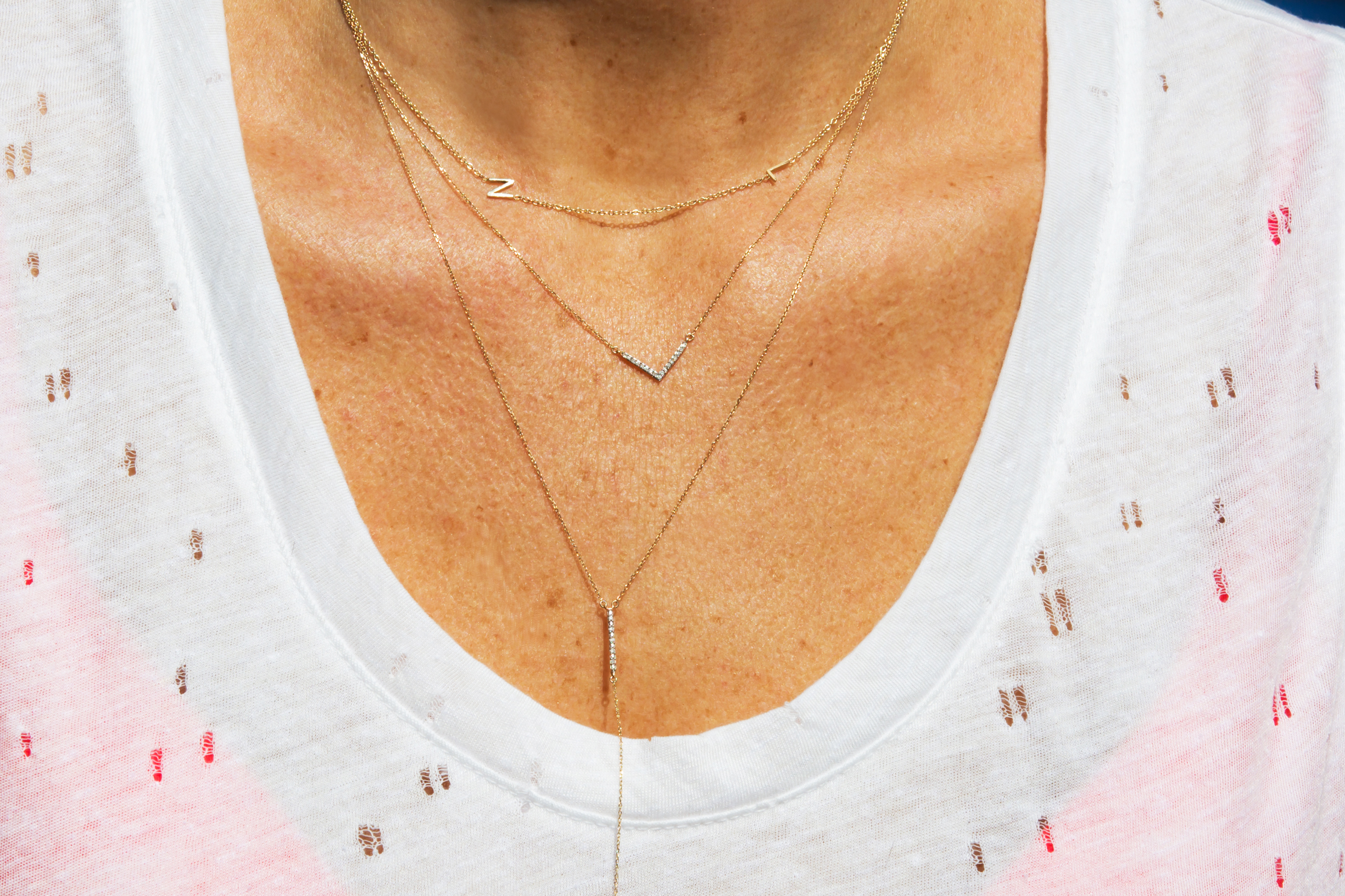 initial necklace the right hand gal for mademoiselle jules blog for mothers day gift idea