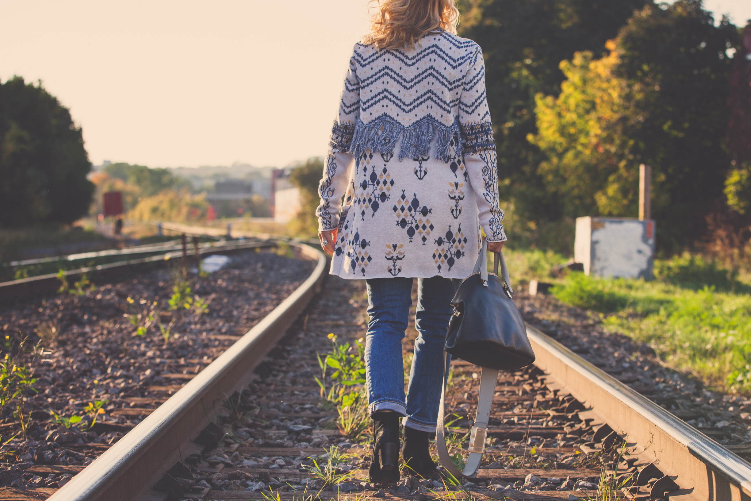 bcbg vest chloé bag mademoiselle jules fashion blog