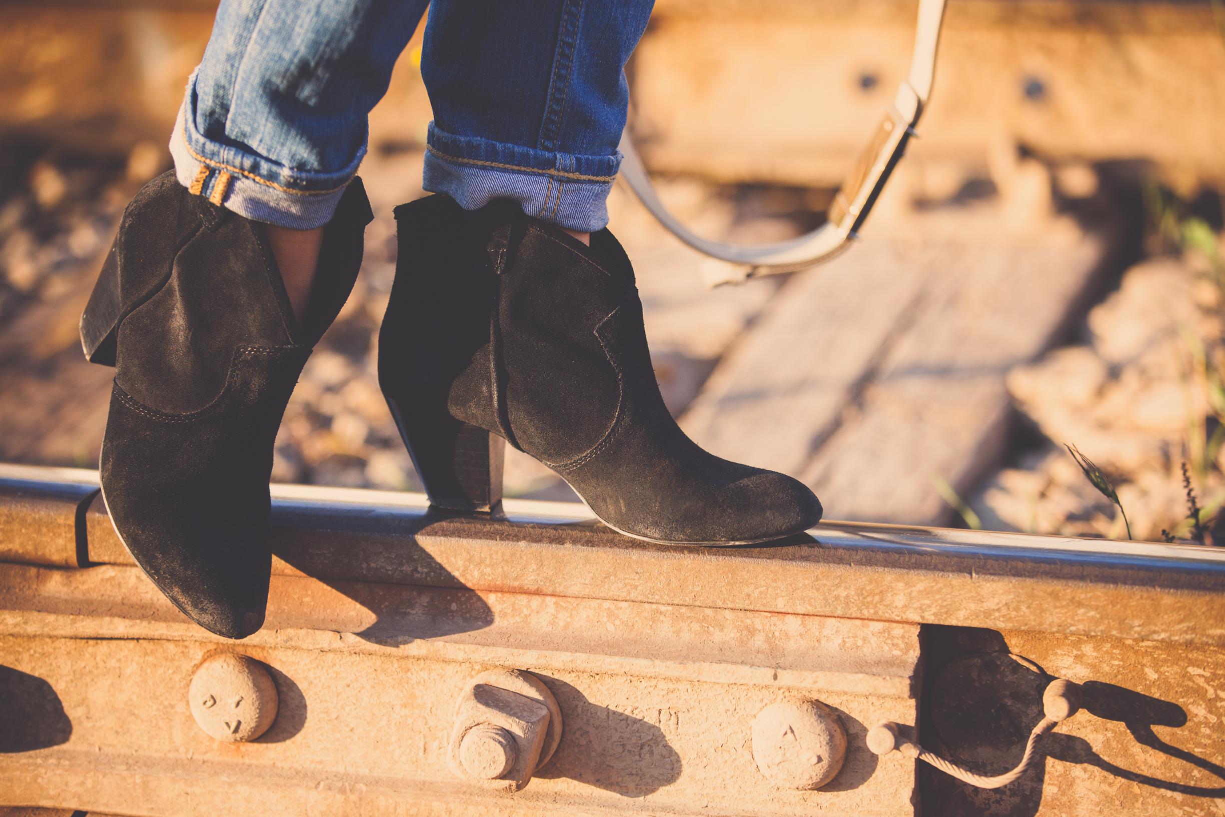 Ash boots on mademoiselle jules fashion blog