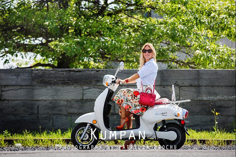 kumpan scooter electronic montreal blog mlle jules