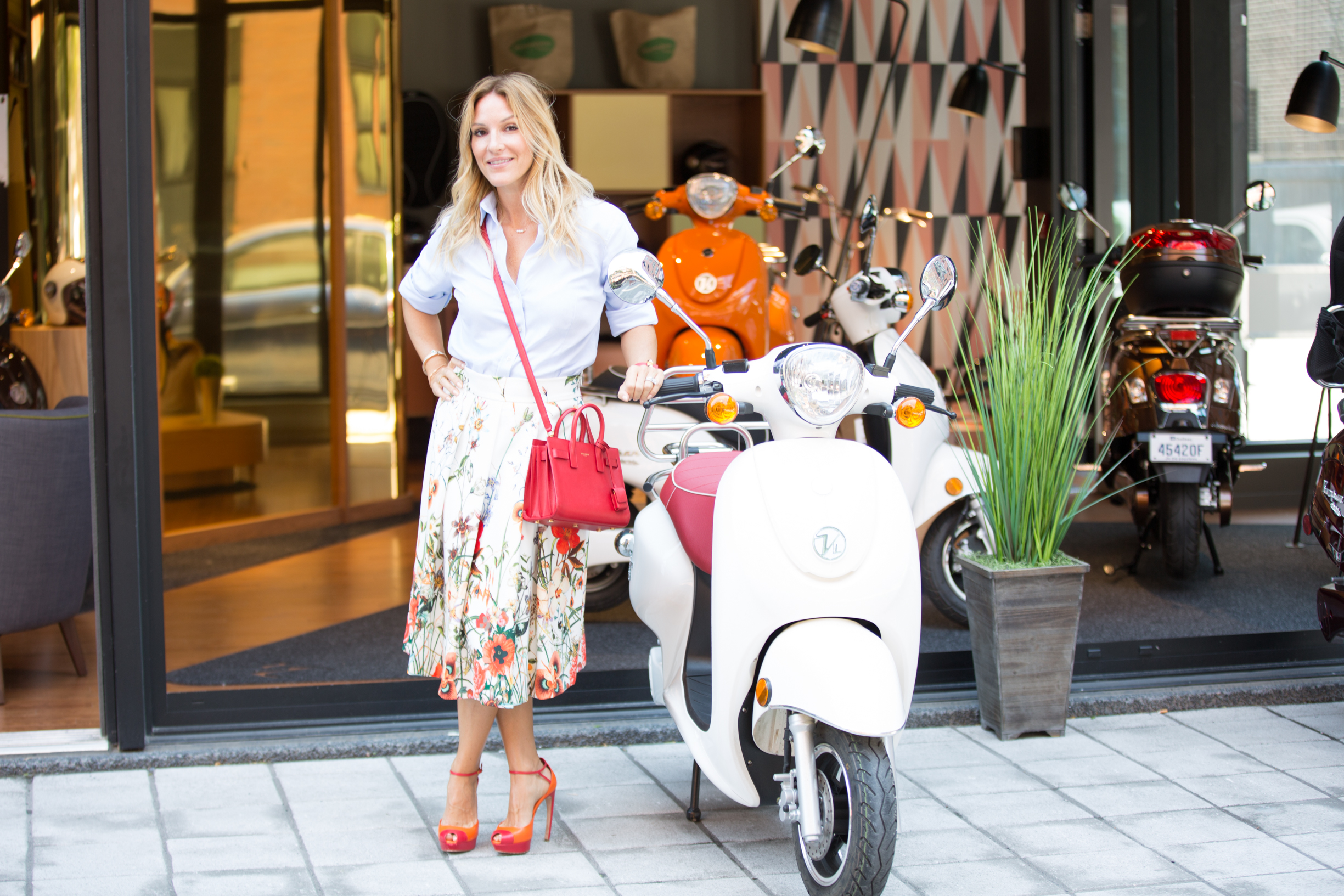 mademoiselle jules mlle blog lifestyle kumpan scooter electric montreal
