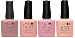 shellac color nudes