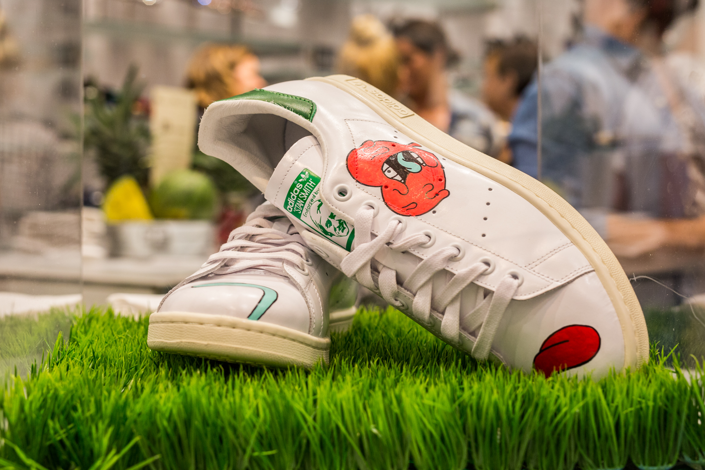antoine Tava browns stan smith adidas fashion collaboration montreal event blog mademoiselle jules