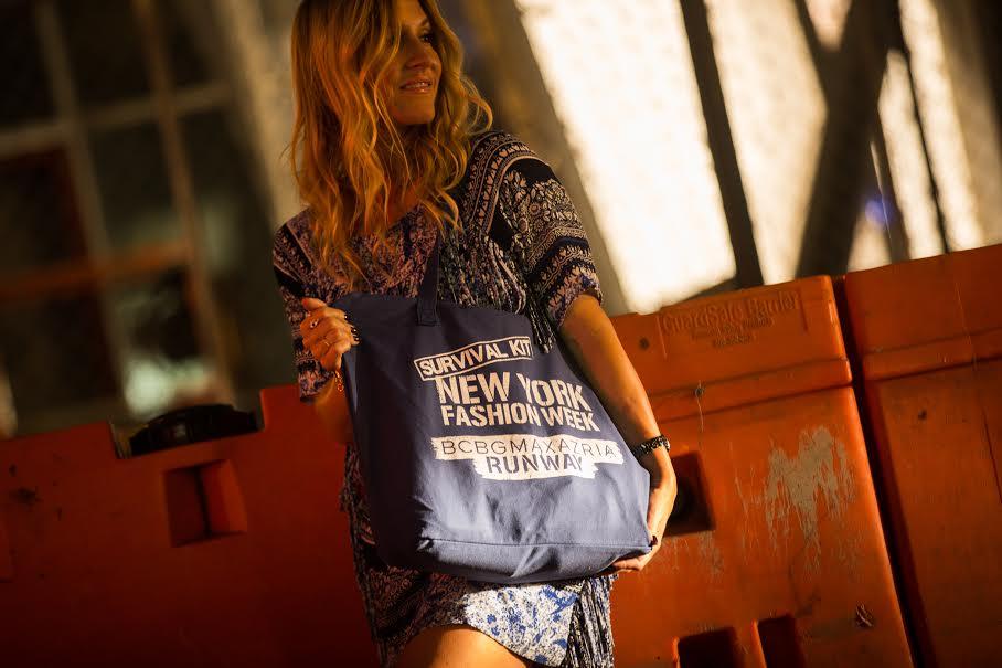 New York Fashion week survival kit BCBG Max Azria runway show ss16