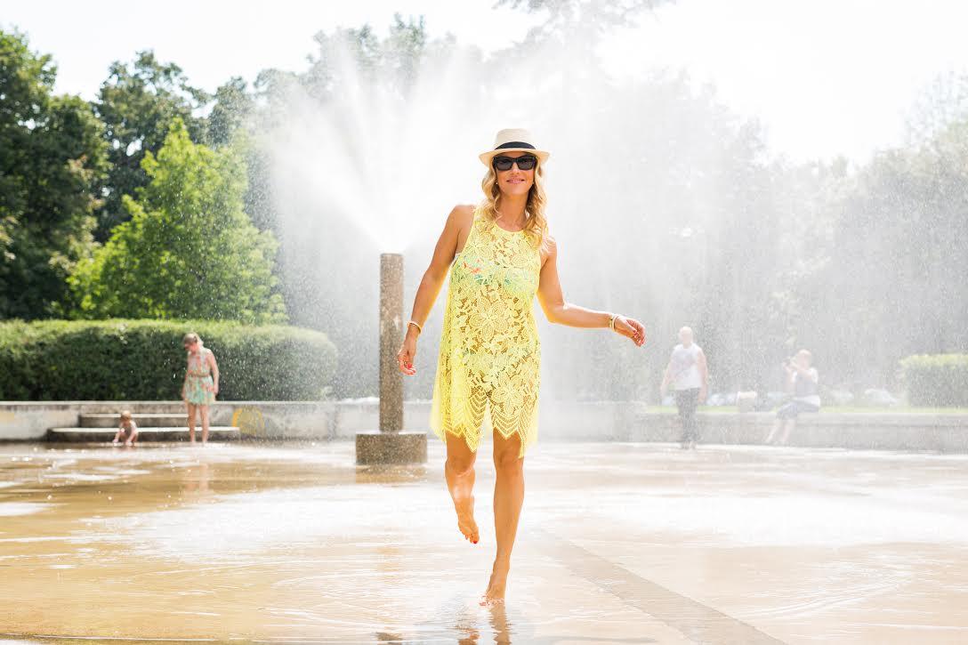mademoiselle jules wearing for love and lemon dress fashion blog