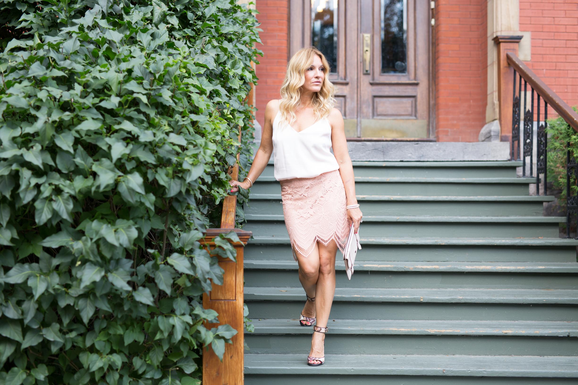 for love and lemon skirt on mademoiselle jules fashion canadian blogger