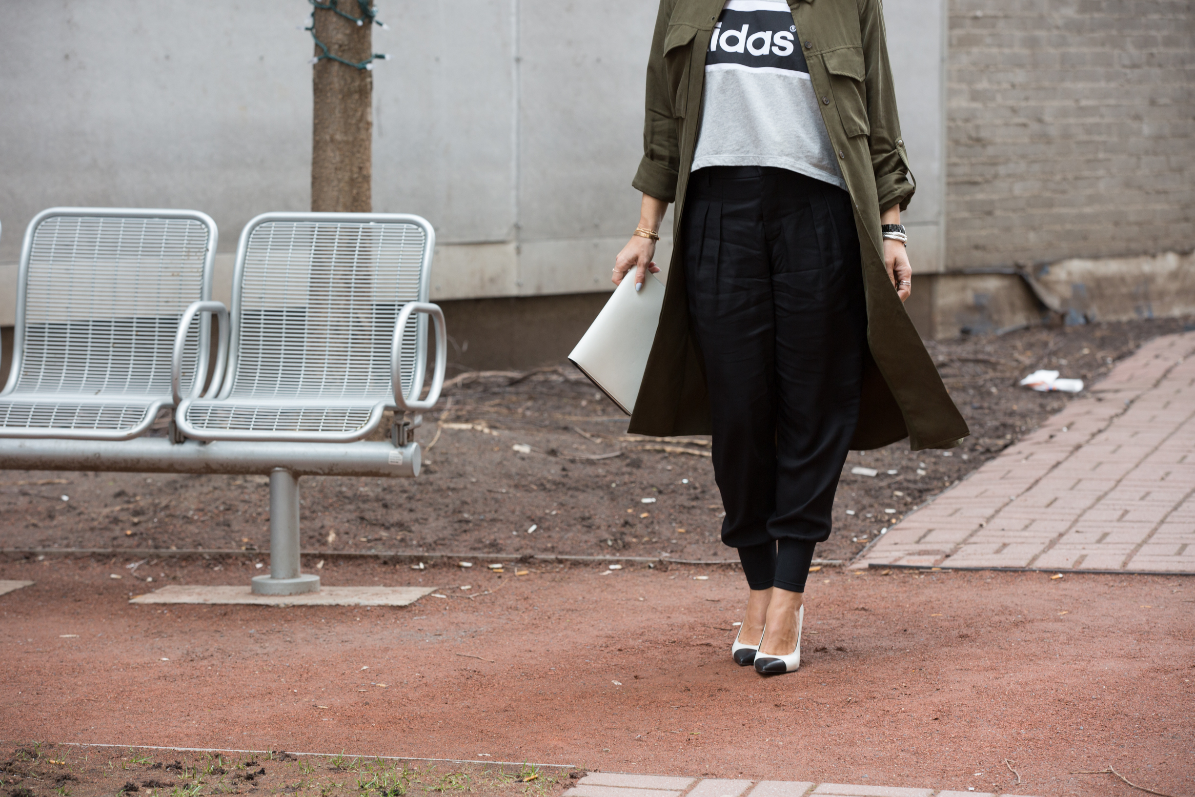 military grade on canadian fashion blog mademoiselle jules