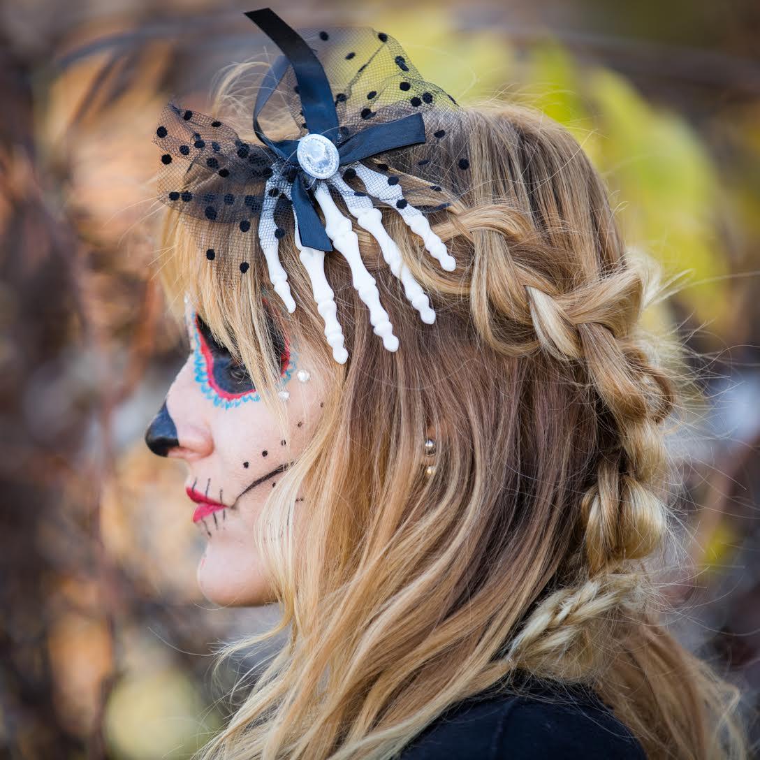 hair and makeup halloween idea on mademoiselle jules