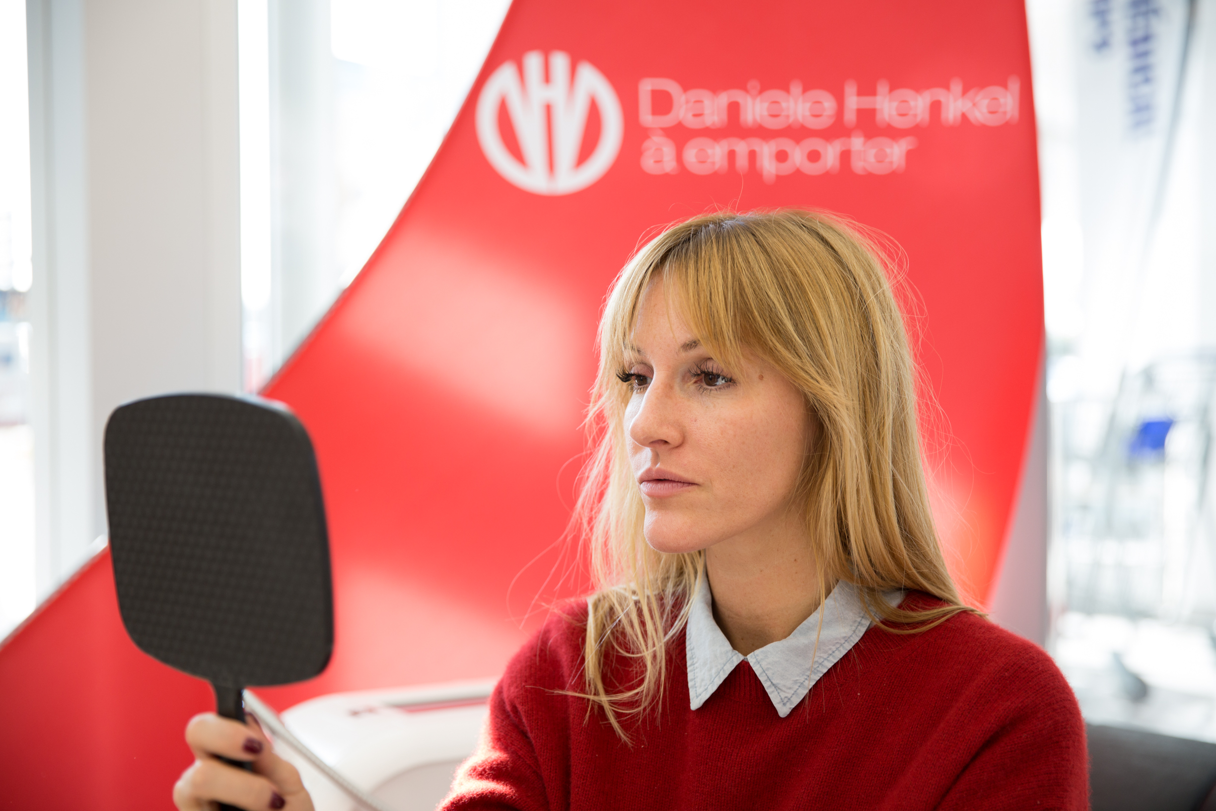 glow on the go with mademoiselle jules beauty blogger at uniprix for daniele henkel on the go