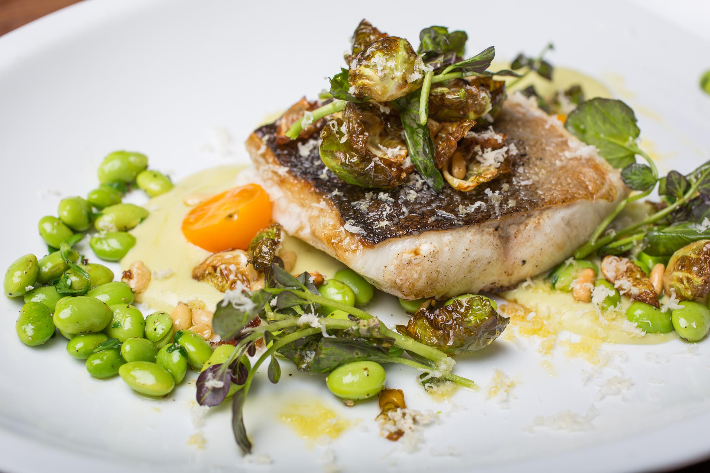 jellyfish crudo charbon restaurant vieux montreal lifestyle blog mademoiselle jules cod