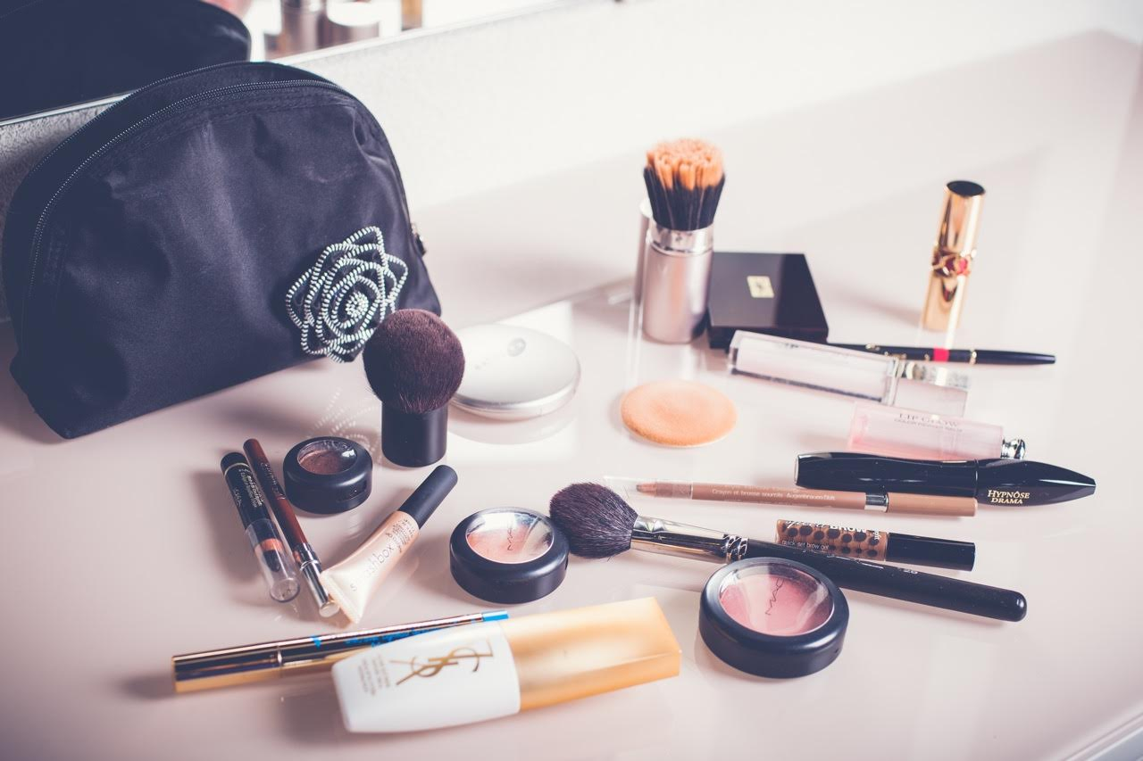 make up routine by beauty blogger mademoiselle jules