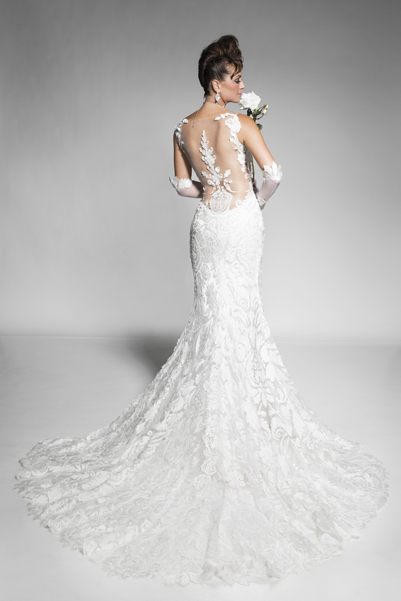 Rachel Perez Haute Couture bridal gown on mademoiselle jules's blog fashion