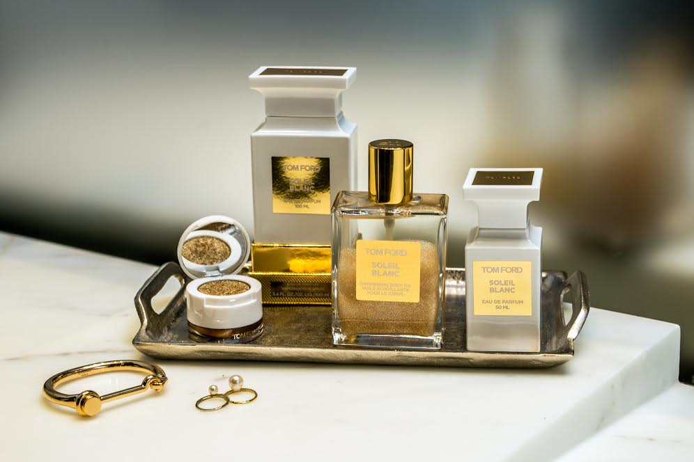 My newest discovery and addiction, TOM FORD, Soleil Blanc.