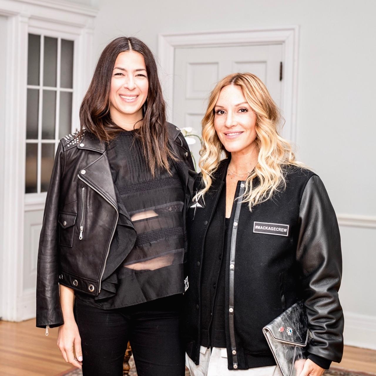 Rebecca Minkoff with fashion blogger mademoiselle jules