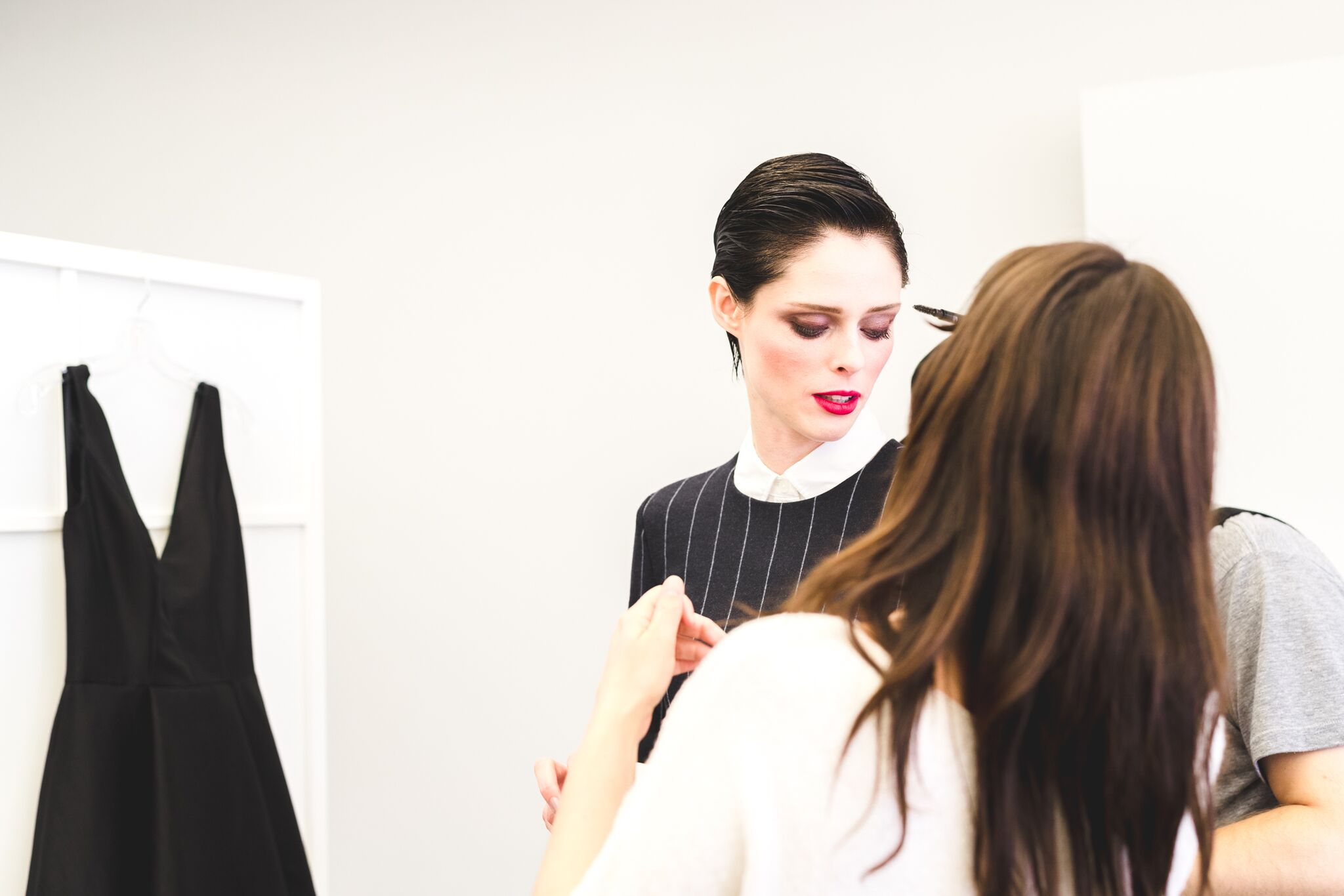 coco rocha behind the scene fro rockland center by fashion blogger mademoiselle jules mlle