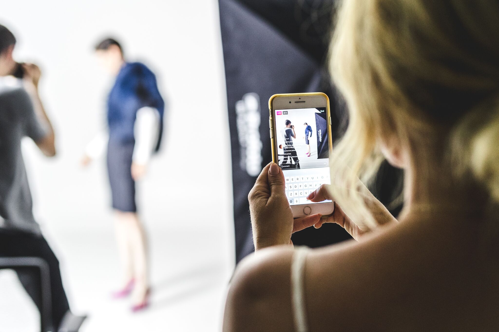 behind the scene with coco rocha for rockland center by fashion blogger mademoiselle jules mlle