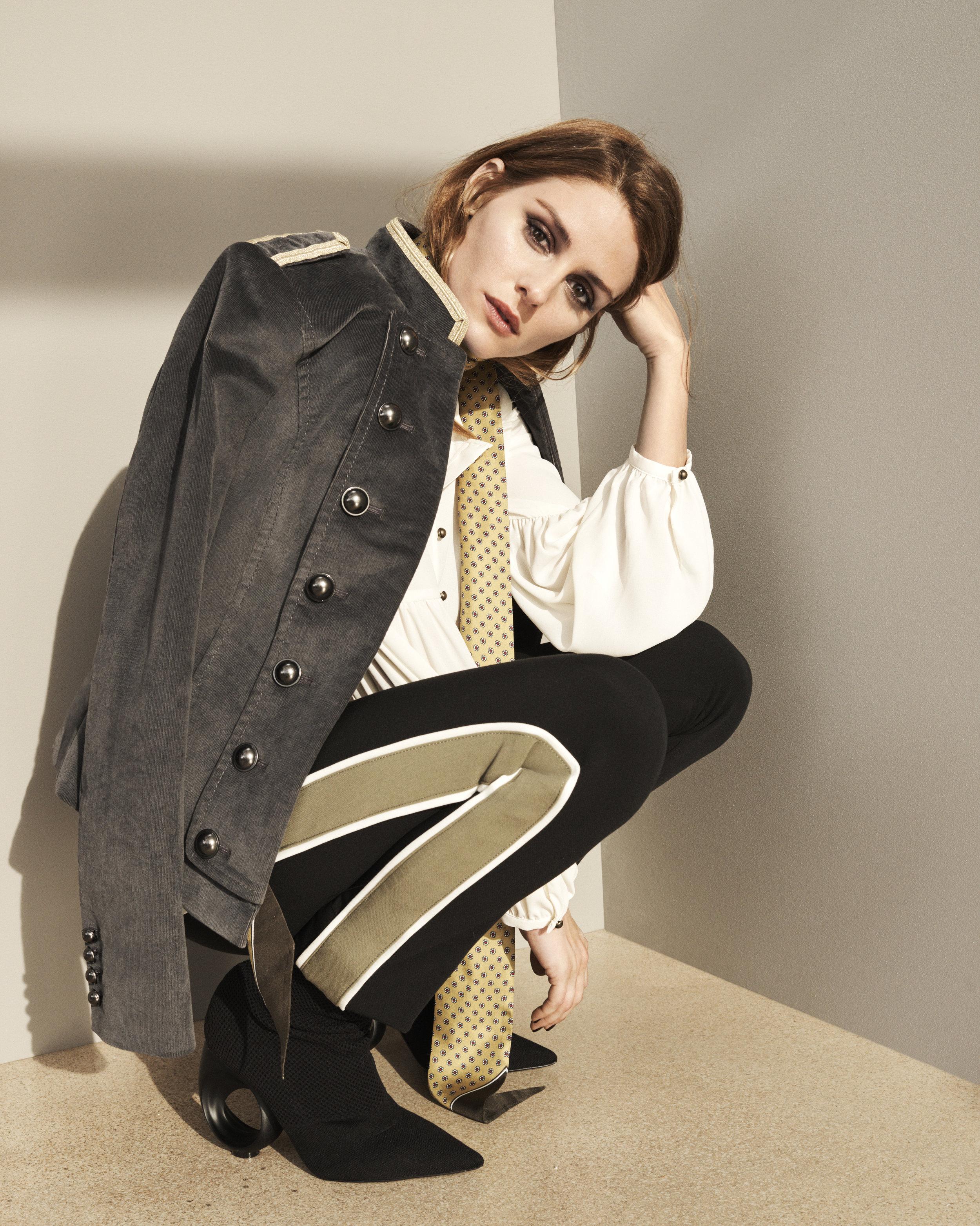 olivia palermo banana republic new york fashion week fashion blog mademoiselle jules mlle