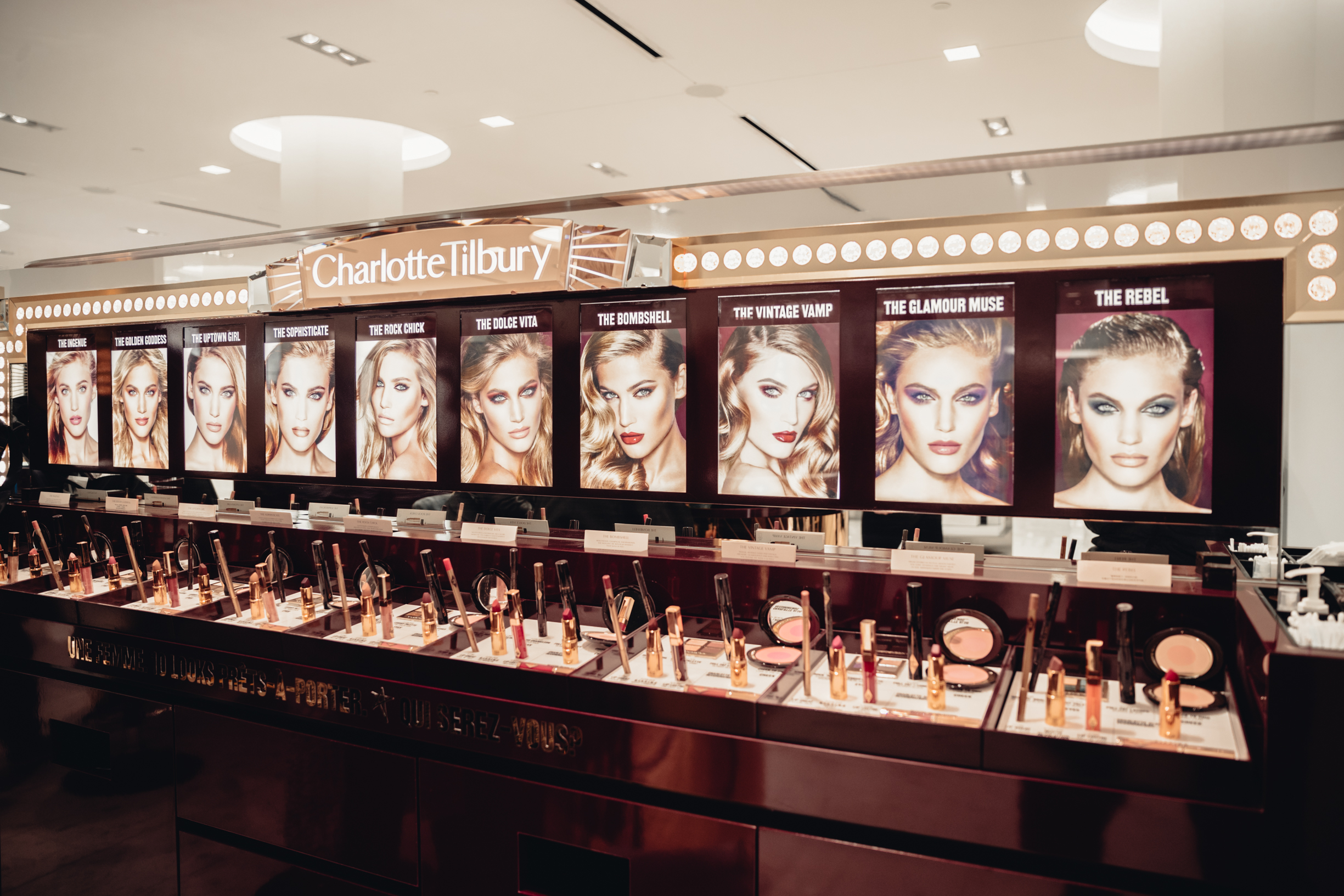 charlotte tilbury in montreal at holt renfrew ogilvy