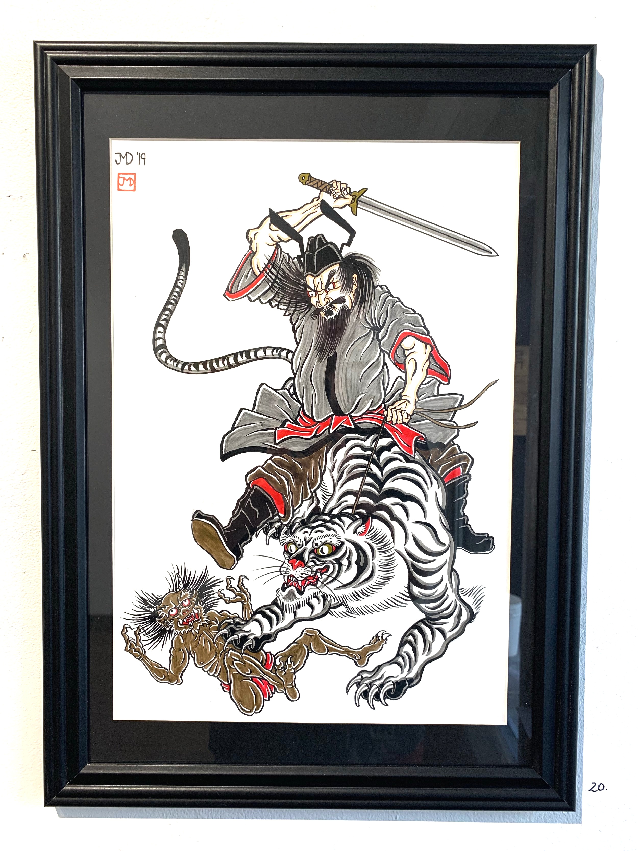 Variations on Traditional Japanese Tattoo Themes - Works by J.M. DuplessisOn View Now!
