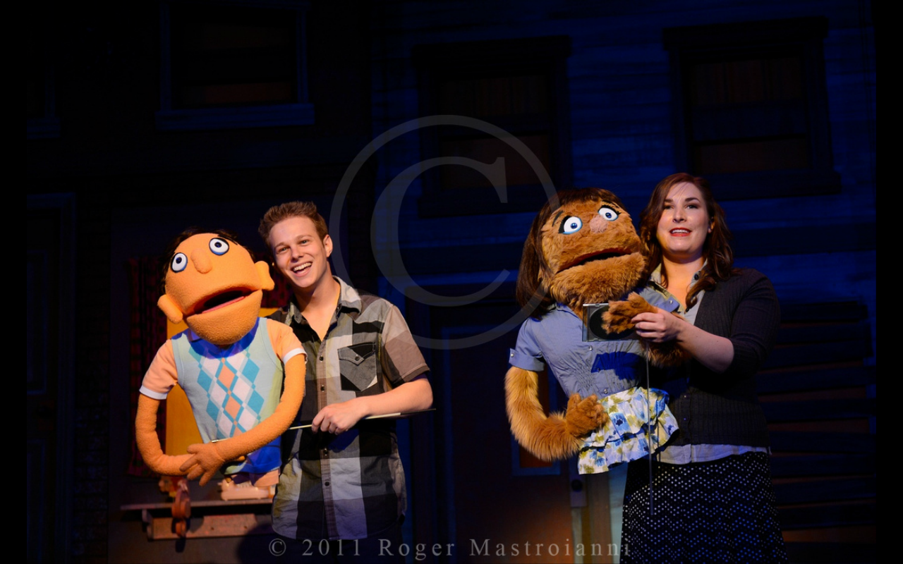 """Princeton in """"Avenue Q"""" with Patty Lohr"""