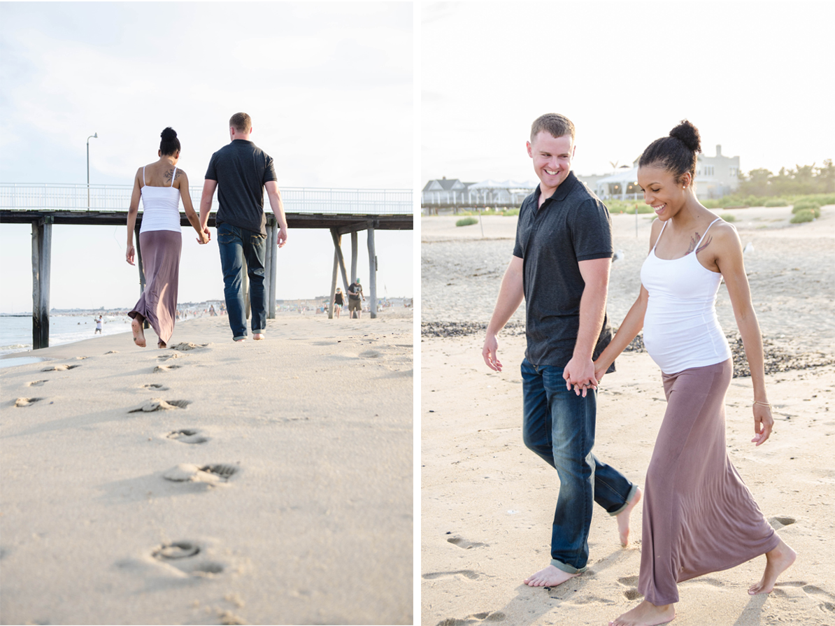 Josh+Ashlee l Beach Sunset Maternity l Avon NJ l Olivia Christina Photography 2.jpg