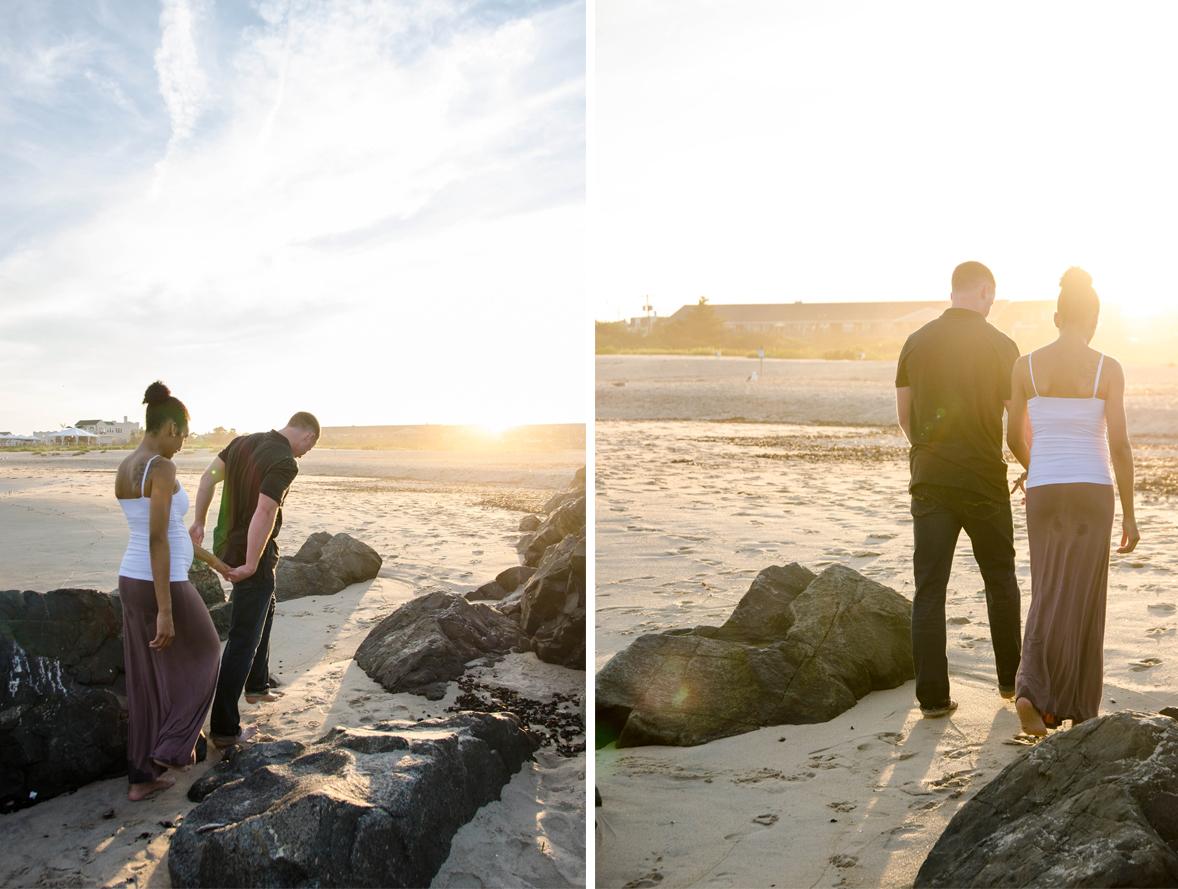Josh+Ashlee | Beach Sunset Maternity | Avon New Jersey | Olivia Christina Photography 11.jpg