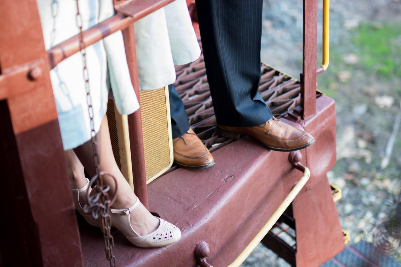 Michelle and Joe- Whippany Railway Musem 1950s Engagement - New Jersey -Olivia Christina Photography-74.jpg