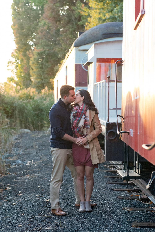 Michelle and Joe- Whippany Railway Musem 1950s Engagement - New Jersey -Olivia Christina Photography-124.jpg