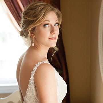 Me on my wedding day! Photo by Cristina Lozito