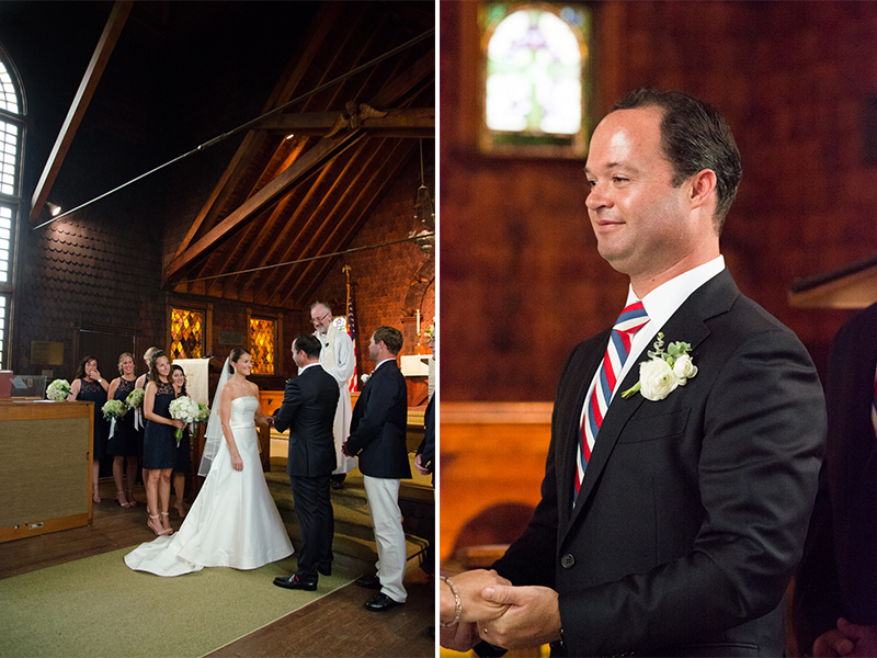 Maggie+Bobby- Bride and Groom Exchanging Vows- Mantoloking Yacht Club Wedding-Olivia Christina Photo.jpg