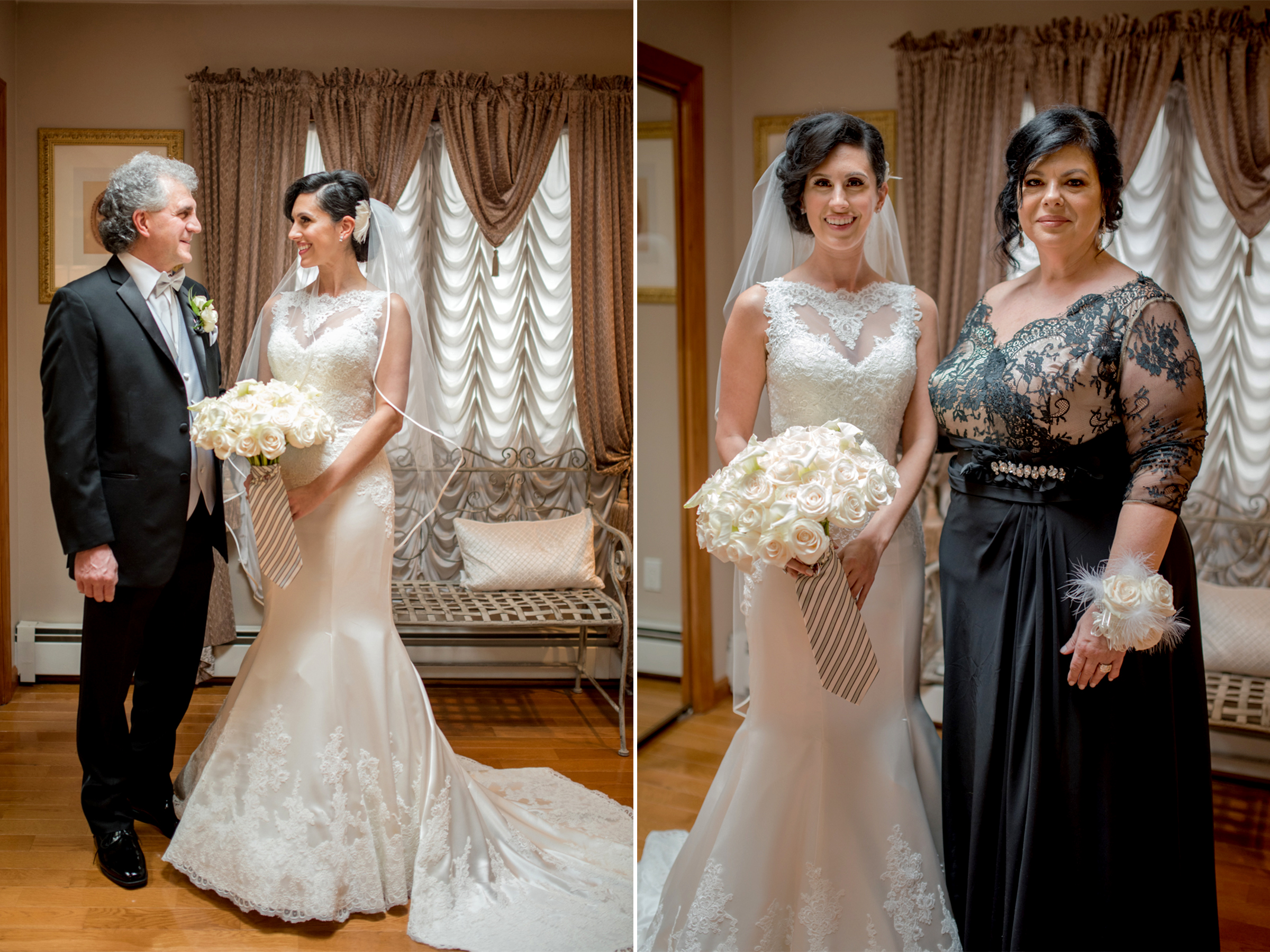 Michelle+Joe- Bride with Parents - Ryland Inn Winter Wedding - New Jersey - Olivia Christina Photo.jpg