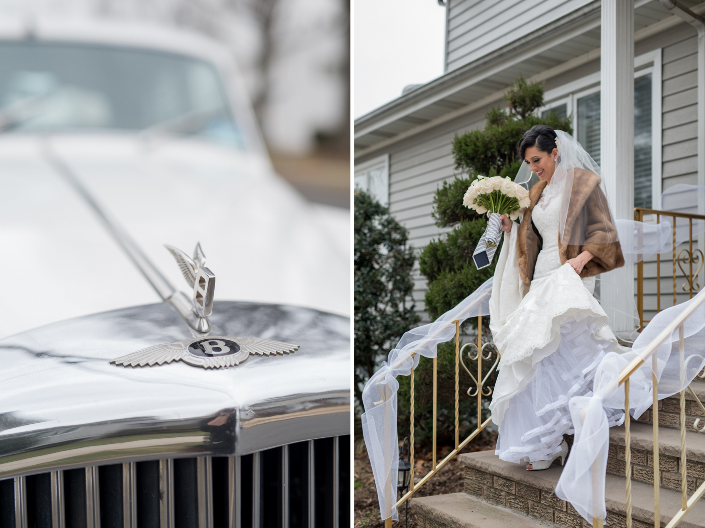 Michelle+Joe- Classic Bentley Bride Leaves for Church - Ryland Inn Winter Wedding - New Jersey - Olivia Christina Photo.jpg