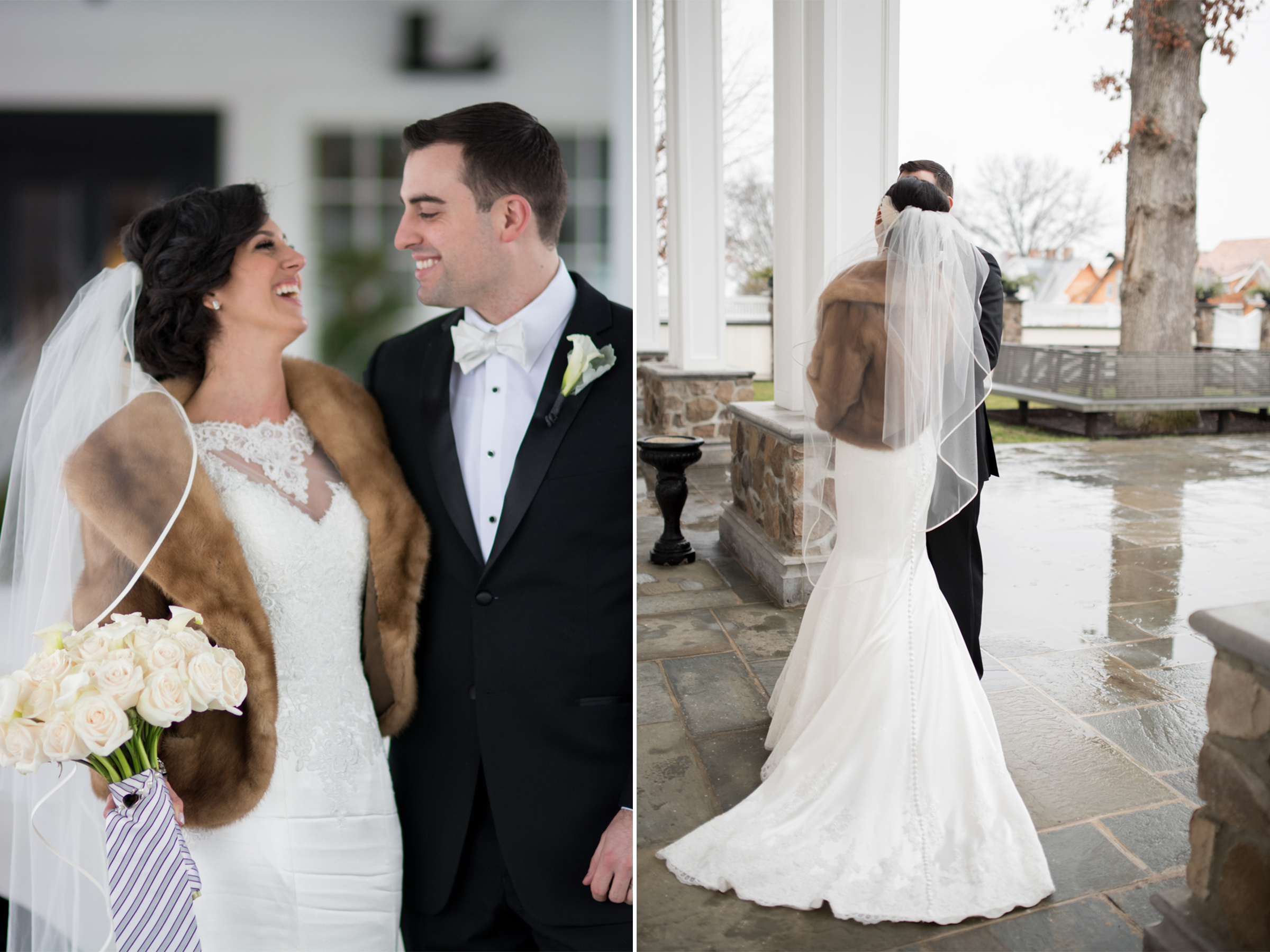 Michelle+Joe- Bride and Groom Laughing - Ryland Inn Winter Wedding - New Jersey - Olivia Christina Photo.jpg